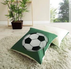 """Ticaa Kissen-Set """"Goal"""" grün-weiß"""