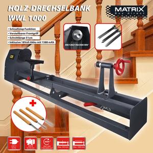 Matrix Holz-Drechselbank, WWL 1000
