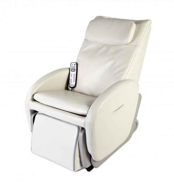 Alpha Techno Premium Multifunktions-Massagesessel 7300, beige