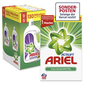 Ariel Waschmittel 130/105 Waschladungen, versch. Sorten, jede Packung
