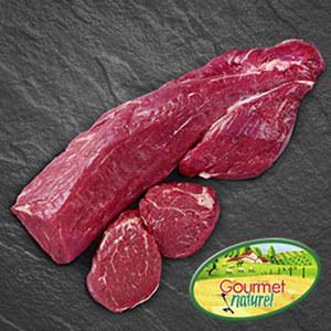 Frisches Französisches Gourmet Naturel Rinderfilet je 1 kg