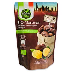 Bio Maronen essreif, Kennzeichnung siehe Etikett, jede 100-g-Beutel