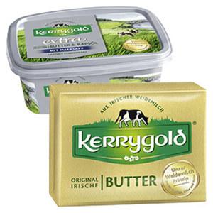 Kerrygold Irische Butter oder extra versch. Sorten, jede 250-g-Packung