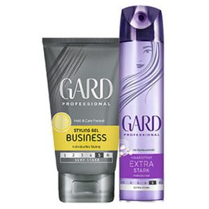 Gard Haarspray oder Styling Gel jede 150/250-ml-Dose
