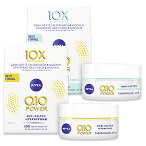Nivea Q10 Power Tagespflege jede 50-ml-Packung