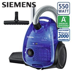 Bodenstaubsauger VSZ1RK2128 · hohe Reinigungsleistung bei niedrigem Energieverbrauch · waschbarer Hygienefilter · Energie-Effizienz A+ (Spektrum: A+++ bis D)