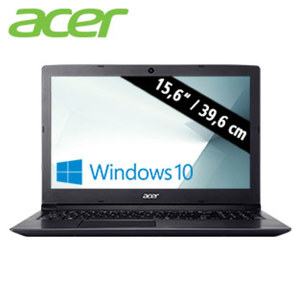 Notebook Aspire 3 (A315-33-P0Z8) · HD Display · Intel® Pentium® N3710 (bis zu 2,56 GHz) · Intel® HD Graphics 405 · USB 2.0, USB 3.0