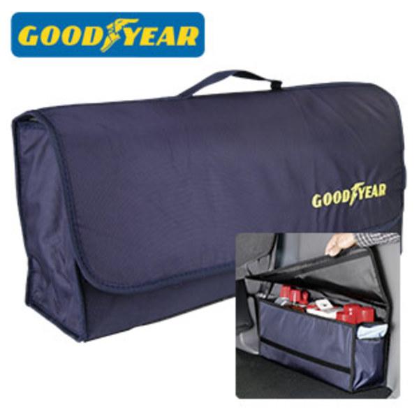Kofferraum-Organizer strapazierfähiges Gewebe, Klettverschlüsse an Boden und Rücken zur fixierung im Kofferraum, Maße ca.: H 23 x B 50 x T 15 cm