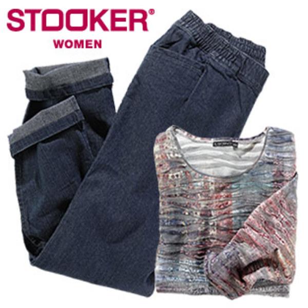 Damen-Shirt oder-Jeans Größe: 44 - 54, je