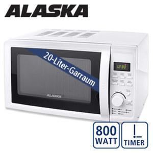 Mikrowelle MWD 4820 · 6 Leistungsstufen · Auftau- und Schnellkoch-Funktion · Maße: H 26,2 x B 45,2 x T 37,8 cm