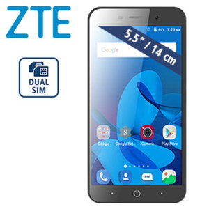 Smartphone Blade A602 · 2 Kameras (5 MP/13 MP) · 1 GB RAM · microSD™-Slot bis zu 128 GB · Android™ 7.0