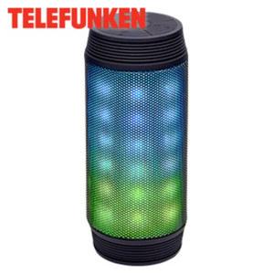 Bluetooth®-Lautsprecher BS1008L mit LED-Lichtshow • integr. Lithium-Akku • 3,5-mm-Klinken-Anschluss • inkl. micro-USB-Ladekabel und 3,5-mm-Audiokabel