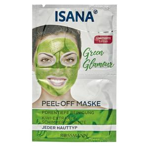 ISANA Green Glamour Peel-Off Maske 3.44 EUR/100 ml