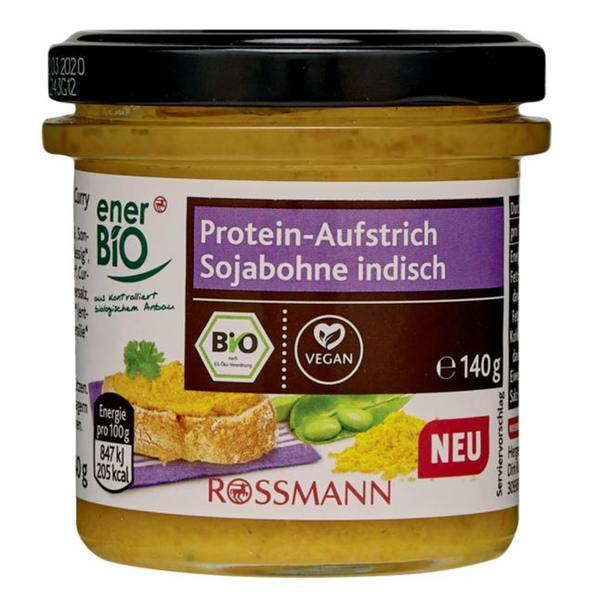 enerBiO Bio Protein- Aufstrich Sojabohne indisch 1.42 EUR/100 g