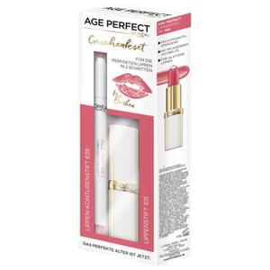 L'Oréal Paris Age Perfect Iris´ Lippen-Set - Lippenstift+Lipliner Rosé
