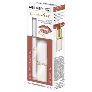 L'Oréal Paris Age Perfect Jane´s Lippen-Set - Lippenstift+Lipliner Bra EUR/