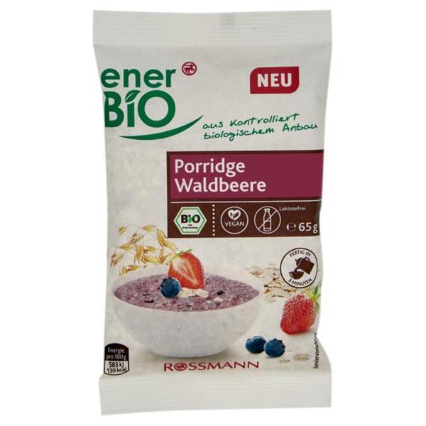 enerBiO Bio Porridge Waldbeere 1.52 EUR/100 g