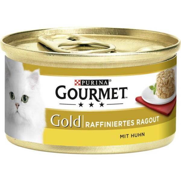 Gourmet Gold Raffinertes Ragout mit Huhn 0.58 EUR/100 g (12 x 85.00g)