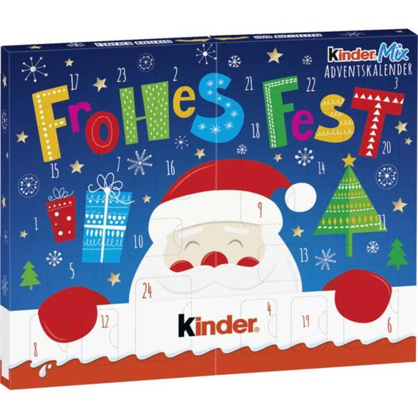 Ferrero Kinder Mix Tisch-Adventskalender 3.14 EUR/100 g