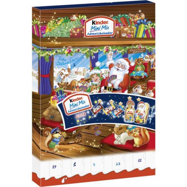Ferrero Kinder Mini Mix Adventskalender 2018 3.28 EUR/100 g