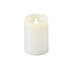 ProVida LED Kerze in Weiß 7,5 cm