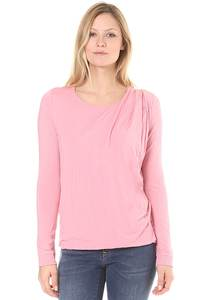 Bench Drape Pleat - Langarmshirt für Damen - Pink