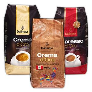 Dallmayr Crema / Espresso d'Oro / Prodomo