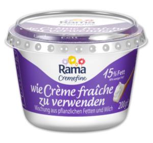 RAMA Cremefine zum Verfeinern