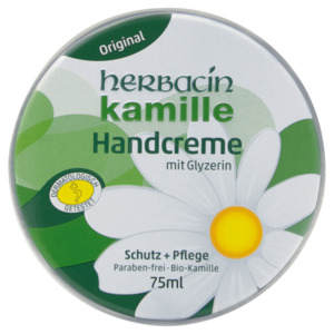 Herbacin Kamille Handcreme Dose 75ml