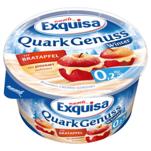 Exquisa QuarkGenuss Winter Bratapfel 0,2% 500g