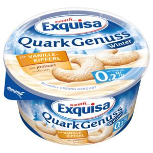 Exquisa QuarkGenuss Winter Typ Vanillekipferl 0,2% 500g