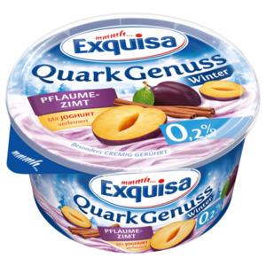 Exquisa QuarkGenuss Winter Pflaume-Zimt 0,2% 500g