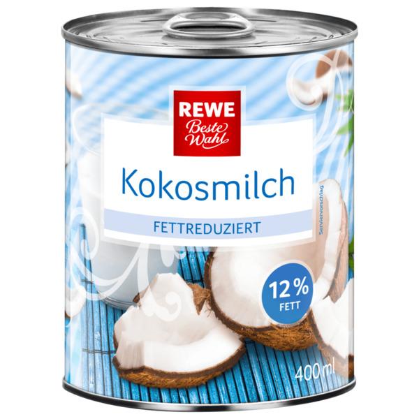 REWE Beste Wahl Kokosmilch fettreduziert 400ml