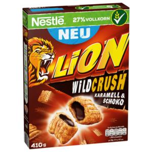 Nestlé Lion Wildcrush Karamell & Schoko 410g