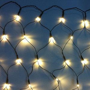 LED-Lichternetz - warmweiß - 200x100 cm