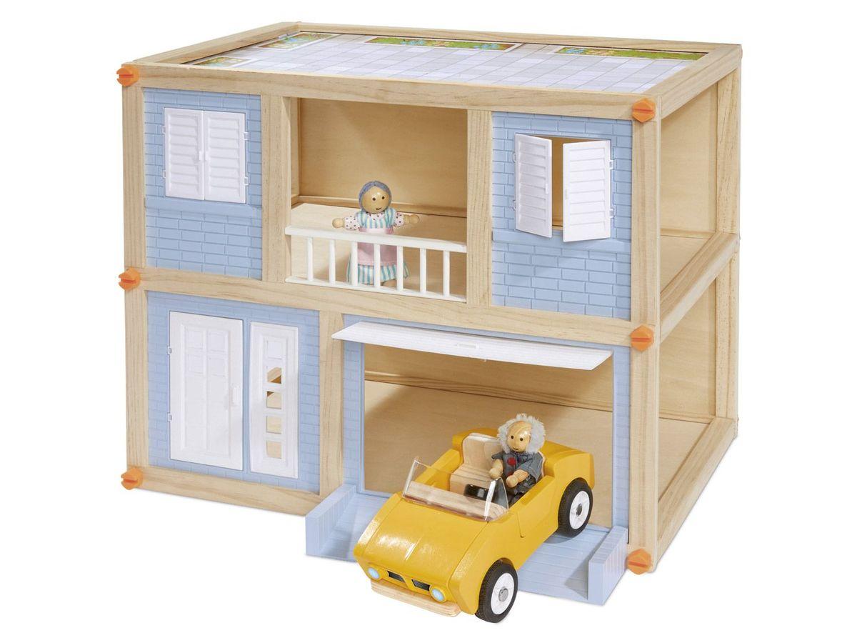 Bild 3 von PLAYTIVE® JUNIOR Holz-Spielhaus