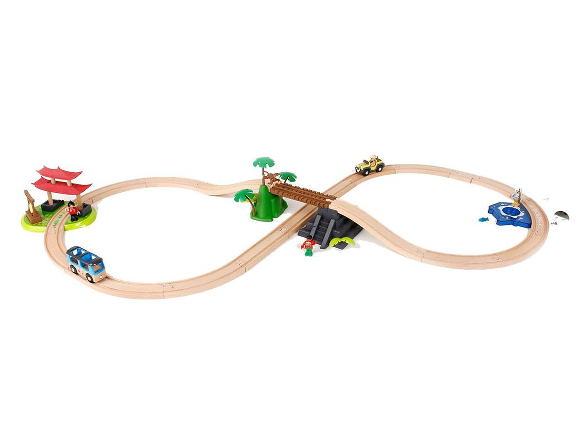 Bild 1 von PLAYTIVE® JUNIOR Eisenbahnset Weltreise