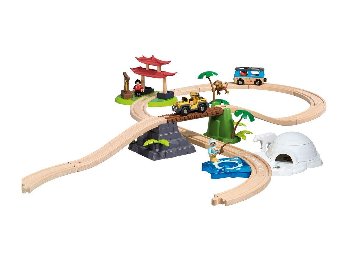Bild 2 von PLAYTIVE® JUNIOR Eisenbahnset Weltreise