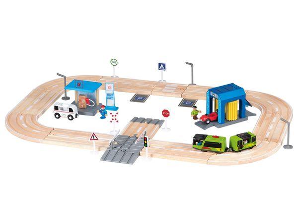 PLAYTIVE® JUNIOR Holzautobahn