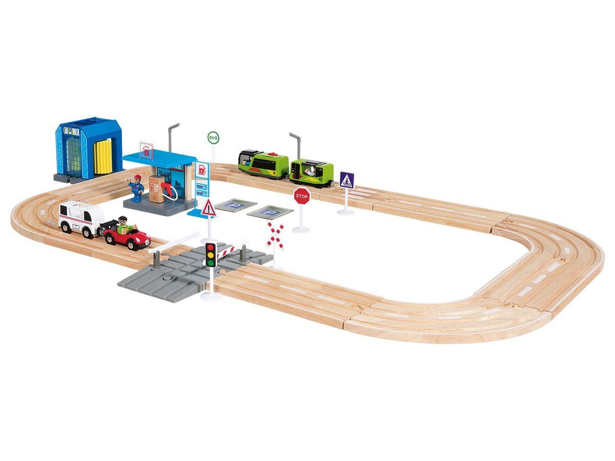 Bild 2 von PLAYTIVE® JUNIOR Holzautobahn