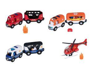 PLAYTIVE® JUNIOR Einsatzwagen/ Hubschrauber