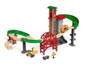 BRIO World Großes Lagerhaus-Set mit Aufzug