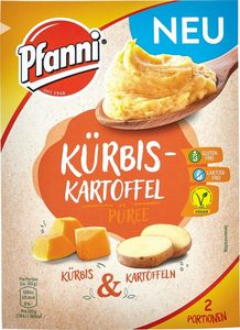 Pfanni Kürbis-Kartoffel Püree, 2 Portionen