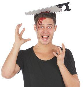 Halloween Zubehör Sortiment - Säge Haarreif