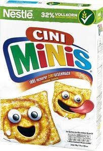 NESTLÉ CINI MINIS, Cerealien mit Zimtgeschmack und Vollkorn, 375 g Packung