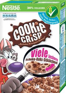 NESTLÉ COOKIE CRISP, Cerealien mit Vollkorn, 375 g Packung