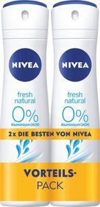 Nivea fresh natural, Aluminiumfrei, Vorteilspack 300 ml
