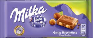 Milka Ganze Haselnuss 100g