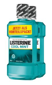 LISTERINE Cool Mint 600ml Duo Pack