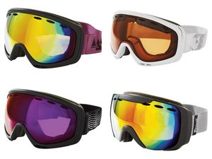 CRIVIT® Damen Herren Ski- und Snowboardbrille